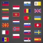 World flags collection, Europe, part 2.