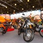 Постер, плакат: Motopark 2015 BikePark 2015 The stand with motorcycles