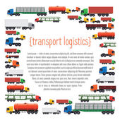 Transportation layout template