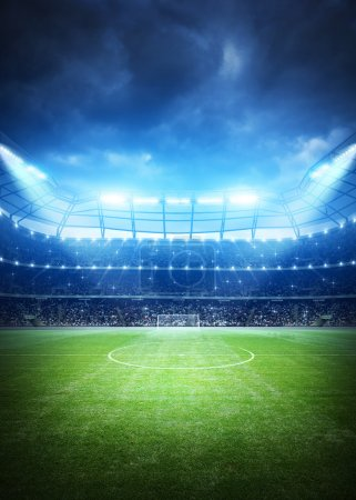 Soccer Stadium background