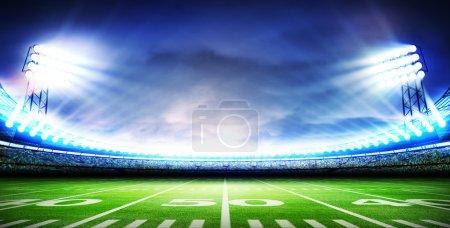 American soccer stadium