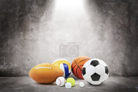 Photo for Balls are modeled and rendered. - Royalty Free Image