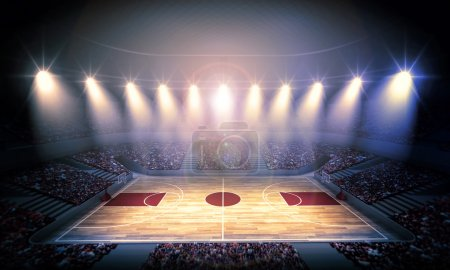 Basketball arena