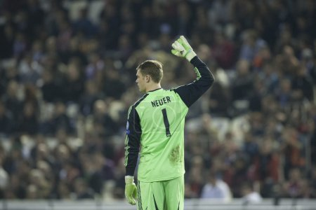 Manuel Neuer during UEFA Champions League match