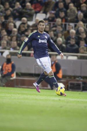 Cristiano Ronaldo during Spanish Soccer
