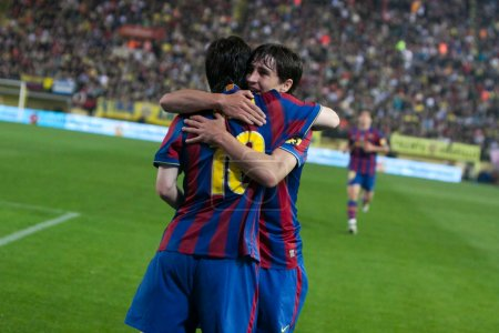 Lionel Andres Messi and Bojan