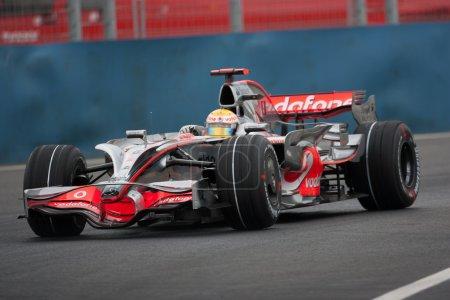 Photo pour VALENCIA, ESPAGNE - 23 août : Grand Prix d'Europe de Formule 1, Valencia Street Circuit . - image libre de droit