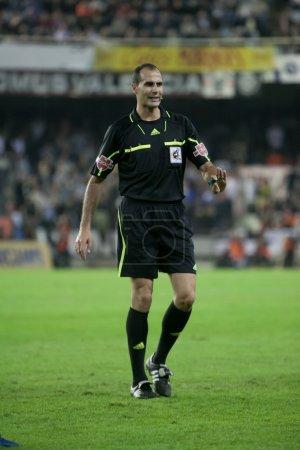 Referee Alvarez Izquierd during the