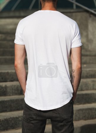 blank t-shirt with space for your logo