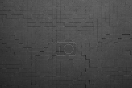 Photo for Black wall interior background - Royalty Free Image