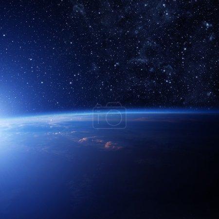 Photo pour Terre. Certains éléments de cette image fournie par la Nasa - image libre de droit