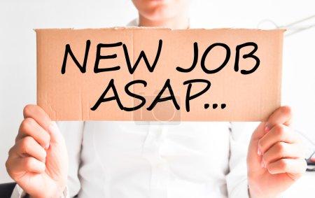 Need a new job asap