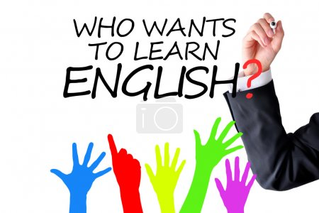 Photo for Do you speak English question - Royalty Free Image