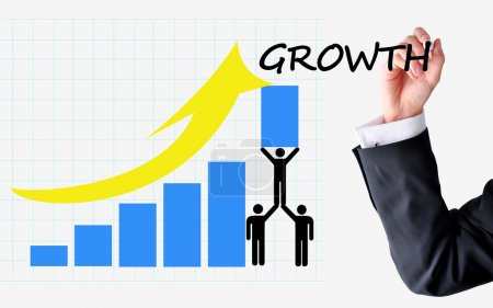 Sustainable growth of sales or business