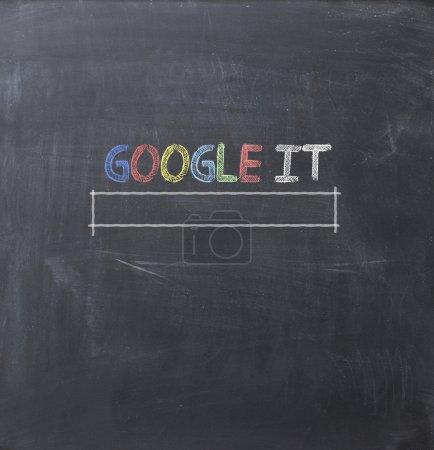 Google it concept