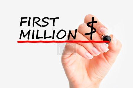 Making first million
