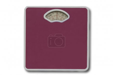 Weight scale on isolated.