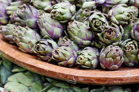 Artichokes in Basket