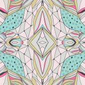 Traditional ornamental paisley bandanna. Hand drawn background with artistic pattern. Pastel colors.