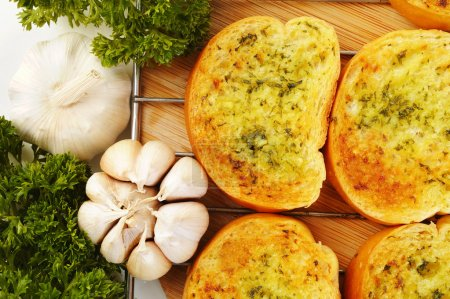 Photo for Garlic bread - Royalty Free Image