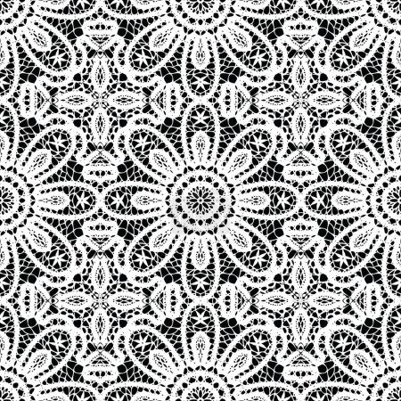 Lace ornamental, floral seamless background