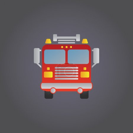 Fire Engine  internet icon
