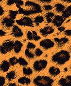 Leopard cheetah skin seamless pattern