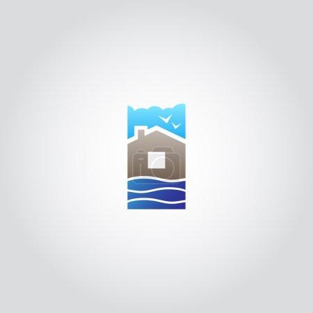 Real estate, house icon