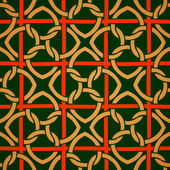 Celtic seamless chain pattern
