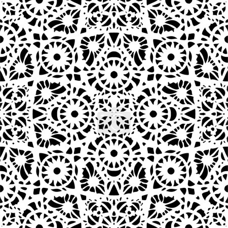 Lace pattern, seamless background