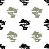 Bonsaje strom pozadí
