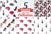 Women's fashion collection cards