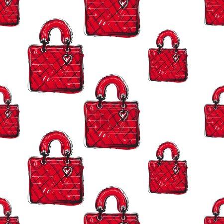 fashionable feminine bag pattern