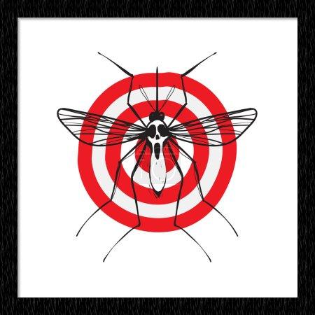 Signaling illustration target mosquito