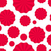 seamless pattern paper fans pompoms paper torch turntables