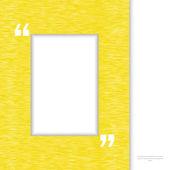 Žlutý rámeček nabídky