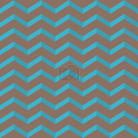 Seamless vintage blue stripe pattern