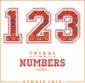 Tribal ethnic numbers