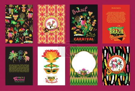 Big set of Brazil Carnival