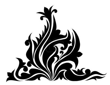 Swirl, Patterns, Flowers-Vector