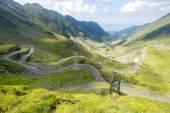Transfagarasan cesta v létě