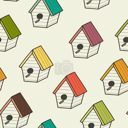 Doodle birdhouses.