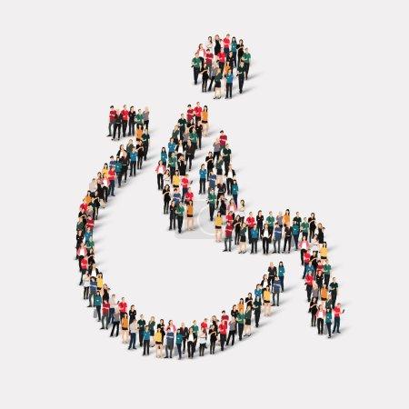 Group  people  shape invalid
