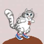 Cat in Cneakers