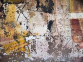 abstract wallpaper of oil painting with brush strokes in cool co