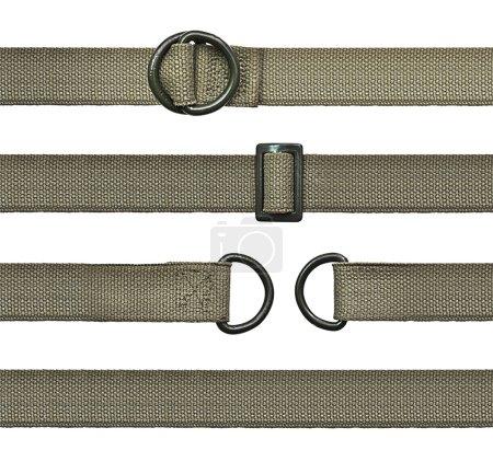 Seamless canvas straps