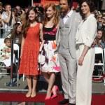 LOS ANGELES - NOV 17: Mackenzie Foy, Jessica Chast...