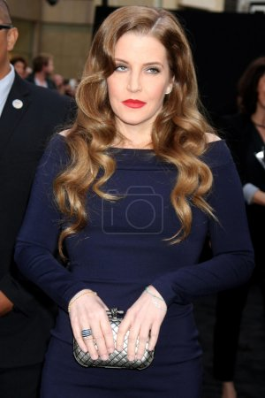 Lisa Marie Presley at the