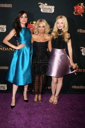 Sofia Carson, Kristin Chenoweth, Dove Cameron