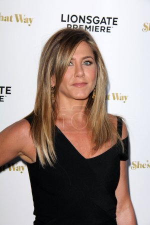"""Photo for LOS ANGELES - AUG 19: Jennifer Aniston at the """"She's Funny That Way"""" Red Carpet Premiere, Harmony Gold Theater, Los Angeles, CA 08-19-15 - Royalty Free Image"""